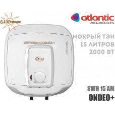 Водонагреватель Atlantic Ondeo+ SWH 15A M-3 2000W над мойкой