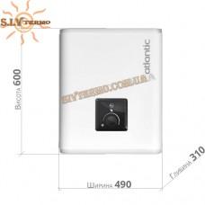 Водонагреватель Atlantic Vertigo O'PRO MP 025 F220-2E-BL (1000W)