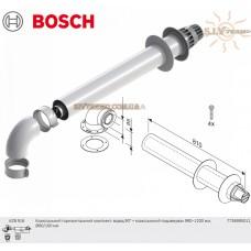 Коаксиальный горизонтальный комплект Bosch AZB 916, диаметр 60_100 мм