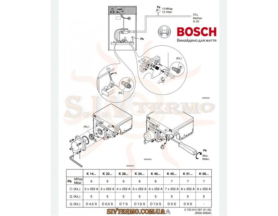 Bosch  213671  Комплект форсунок Bosch 7 715 439 057 Junkers для газових котлів  Интернет - Магазин SIVTERMO.COM.UA все права защищены. Использование материалов сайта возможно только со ссылкой на источник.    Запасні частини BOSCH
