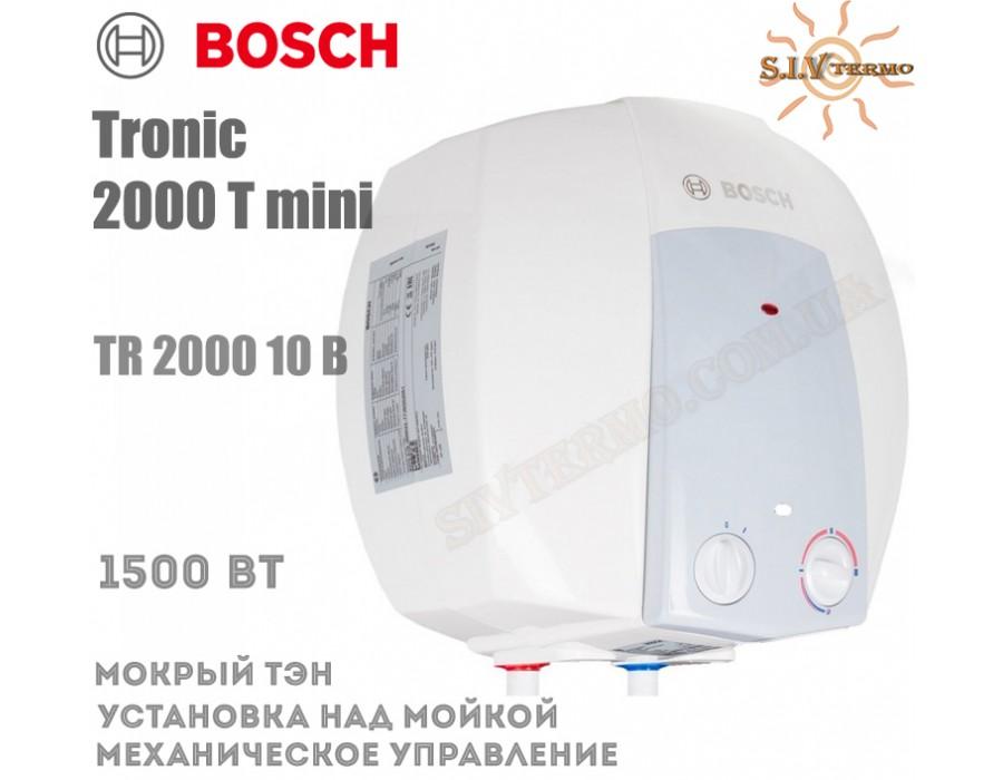 Bosch  004430  Водонагреватель Bosch Tronic 2000 mini TR 2000 10 B над мойкой  Интернет - Магазин SIVTERMO.COM.UA все права защищены. Использование материалов сайта возможно только со ссылкой на источник.    Bosch Tronic