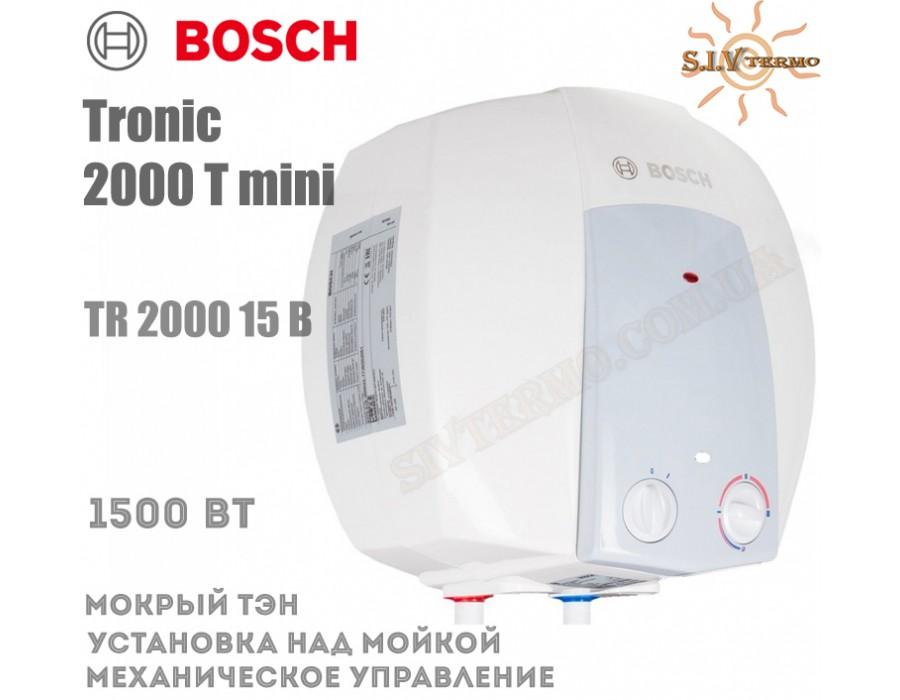 Bosch  001884  Водонагреватель Bosch Tronic 2000 mini TR 2000 15 B над мойкой  Интернет - Магазин SIVTERMO.COM.UA все права защищены. Использование материалов сайта возможно только со ссылкой на источник.    Bosch Tronic
