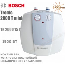 Водонагреватель Bosch Tronic 2000 mini TR 2000 15 T под мойкой
