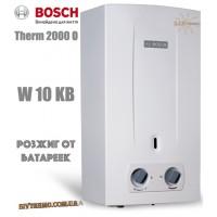 Газова колонка BOSCH Therm 2000 O W 10 KB (розпал від батарейок)