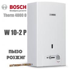 Газовая колонка BOSCH Therm 4000 O W 10-2 P (пьезорозжиг)