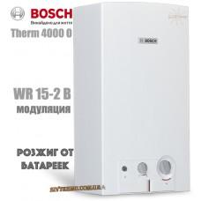Газовая колонка BOSCH Therm 4000 O WR 15-2 B (розжиг от батареек)