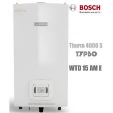Газовая колонка BOSCH Therm 4000 S WTD 15 AM E (бездымоходная, турбо)