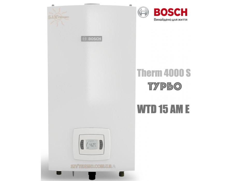 Bosch  10063  Газовая колонка BOSCH Therm 4000 S WTD 15 AM E (бездымоходная, турбо)   Интернет - Магазин SIVTERMO.COM.UA все права защищены. Использование материалов сайта возможно только со ссылкой на источник.    Bosch