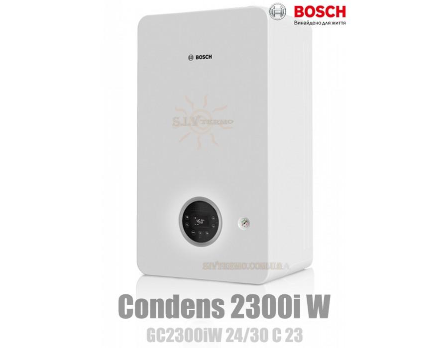 Bosch  003692  Газовый котел Bosch Condens 2300i W GC2300iW 24/30 C23 конденсационный  Интернет - Магазин SIVTERMO.COM.UA все права защищены. Использование материалов сайта возможно только со ссылкой на источник.    Bosch Condens