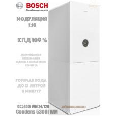 Газовый конденсационный котел Bosch Condens 5300i WM GC5300i WM 24/120