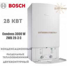 Газовый котел Bosch Condens 3000 W ZWB 28-3 C конденсационный