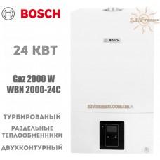 Газовый котел Bosch WBN 2000-24C RN двухконтурный, турбированный