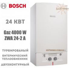 Газовый котел Bosch GAZ 4000 W ZWA 24-2 А двухконтурный, турбированный