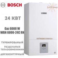 Газовый котел Bosch WBN 6000-24C RN двухконтурный, турбированный