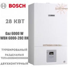 Газовый котел Bosch WBN 6000-28C RN двухконтурный, турбированный