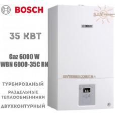 Газовый котел Bosch WBN 6000-35C RN двухконтурный, турбированный
