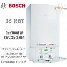 Газовый котел Bosch GAZ 7000 ZWC 35-3MFA двухконтурный, турбированный