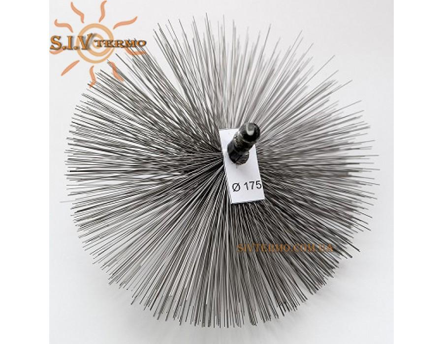 SIVTERMO.COM.UA  002051  Щітка 180 мм сталева для чищення димоходу  Интернет - Магазин SIVTERMO.COM.UA все права защищены. Использование материалов сайта возможно только со ссылкой на источник.    Чистка твердопаливних котлів опалення