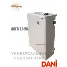Котел парапетный Dani АОГВ -7,4 универсальный одноконтурный