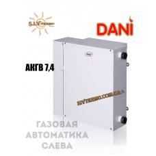 Котел парапетный Dani АКГВ -7,4 газовая автоматика слева, двухконтурный