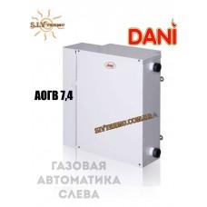 Котел парапетный Dani АОГВ -7,4 газовая автоматика слева, одноконтурный