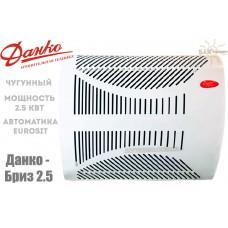 Газовый конвектор Данко-Бриз 2,5 чугунный теплообменник (2,5 кВт)
