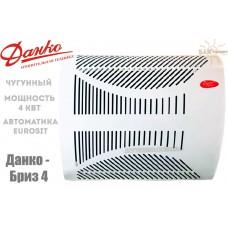 Газовый конвектор Данко-Бриз 4 чугунный теплообменник (4 кВт)