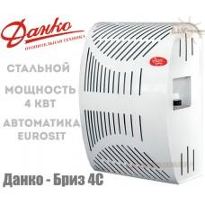 Газовый конвектор Данко-Бриз 4С (4 кВт) стальной теплообменник