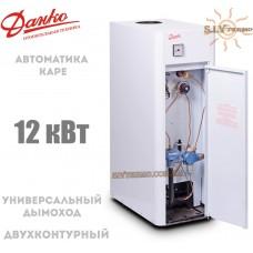 Газовый котел Данко 12 В КАРЕ дымоходный