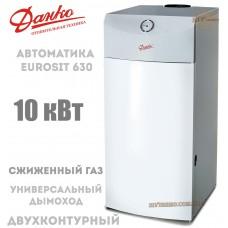 Газовый котел Данко 10 В Sit дымоходный (СЖИЖЕННЫЙ ГАЗ)