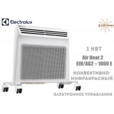 Конвектор электрический Electrolux EIH/AG2-1000 E (1 кВт) электронный