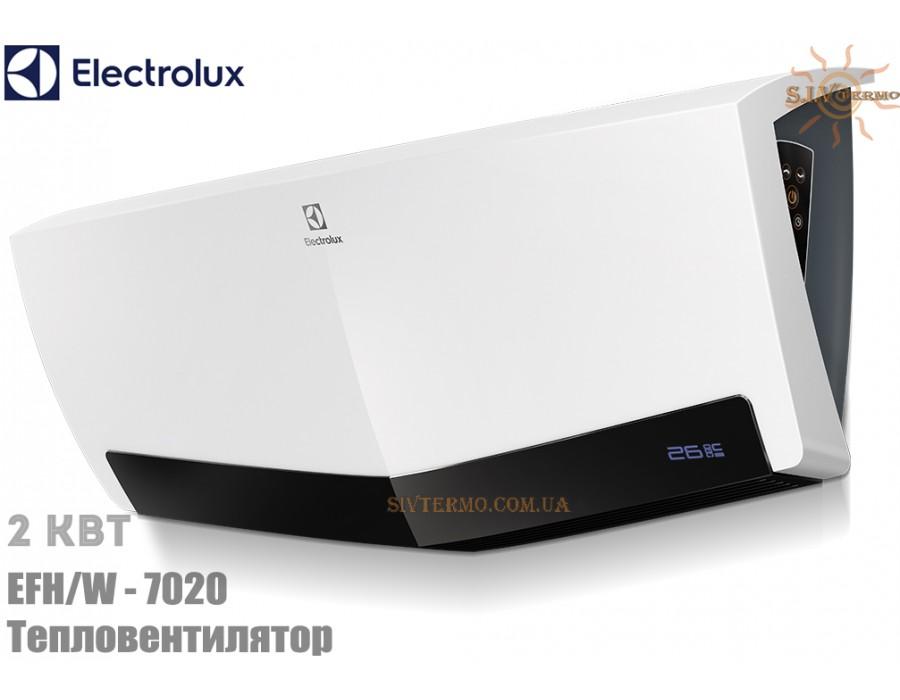 Electrolux  004372  Настенный тепловентилятор Electrolux EFH/W-7020 (2 кВт) электронный  Интернет - Магазин SIVTERMO.COM.UA все права защищены. Использование материалов сайта возможно только со ссылкой на источник.    Electrolux