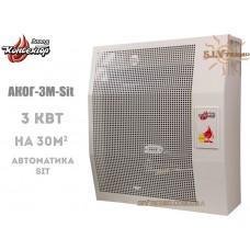 Газовый конвектор АКОГ-3-(Sit) (3 кВт) стальной теплообменник
