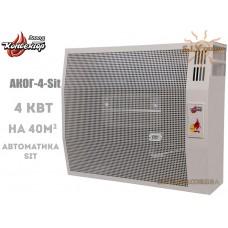 Газовый конвектор АКОГ-4-(Sit) (4 кВт) стальной теплообменник