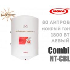 Водонагрівач NovaTec Combi NT-CB 80 ліве підключення