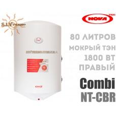 Водонагрівач NovaTec Combi NT-CB 80 праве підключення