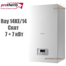 Электрический котел Protherm Ray (Скат) 14KE/14 (7+7 кВт) с шиной eBus