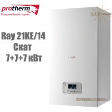 Электрический котел Protherm Ray (Скат) 21KE/14 (7+7+7 кВт) с шиной eBus