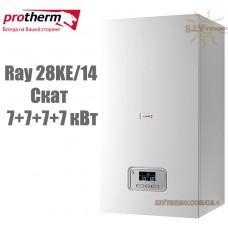 Электрический котел Protherm Ray (Скат) 28KE/14 (7+7+7+7 кВт) с шиной eBus