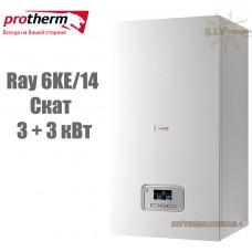 Электрический котел Protherm Ray (Скат) 6KE/14 (3+3 кВт) с шиной eBus