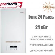 Газовый котел Protherm Lynx 24 (Рысь)  23,5 кВт турбированный