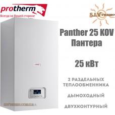 Газовый котел Protherm Panther 25 KOV (Пантера) 25 кВт дымоходный