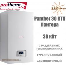 Газовый котел Protherm Panther 30 KTV (Пантера) 29,9 кВт турбированный
