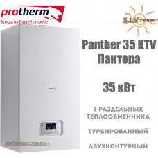 Газовый котел Protherm Panther 35 KTV (Пантера) 35 кВт турбированный