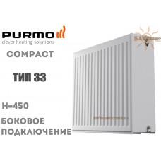 Радиатор стальной Purmo Compact C33 450x400 боковое подключение
