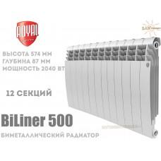 Радиатор Royal Thermo BiLiner 500 Bianco Traffico 12 секций (белый)