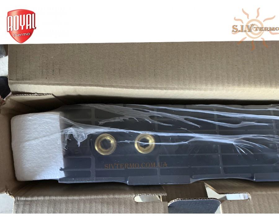 Royal Thermo Campo Di Calore  004582  Радиатор Royal Thermo PianoForte 500 VD,6 секций (черный) нижний подвод  Интернет - Магазин SIVTERMO.COM.UA все права защищены. Использование материалов сайта возможно только со ссылкой на источник.    Радиатор Royal Thermo