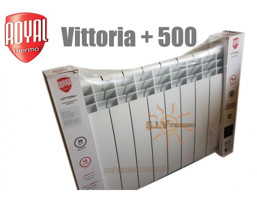 Royal Thermo Campo Di Calore  004041  Радиатор Royal Thermo Vittoria + 500 биметаллический 6 секций  Интернет - Магазин SIVTERMO.COM.UA все права защищены. Использование материалов сайта возможно только со ссылкой на источник.    Радиатор Royal Thermo