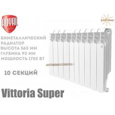 Радиатор Royal Thermo Vittoria Super 500 биметаллический 10 секций