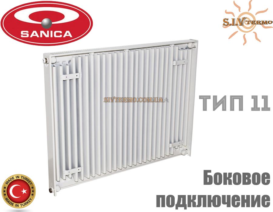 Sanica  003056  Радиатор стальной Sanica 11 тип 300x900 боковое подключение  Интернет - Магазин SIVTERMO.COM.UA все права защищены. Использование материалов сайта возможно только со ссылкой на источник.    Радиаторы Sanica